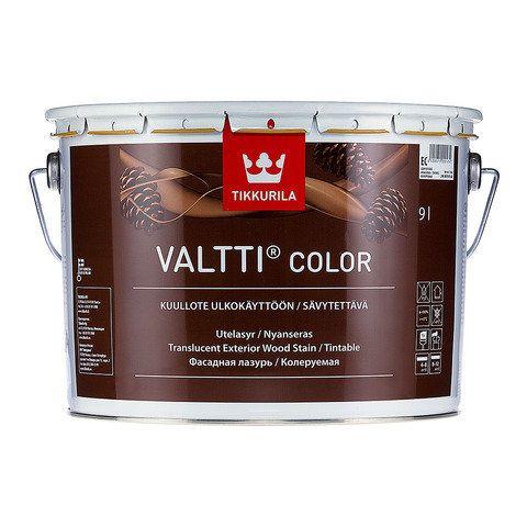 Антисептик-лазурь Tikkurila Valtti Color 9 литров