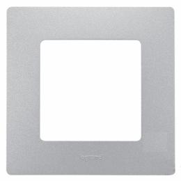 Рамка Etika P 1-м 672551 алюминий